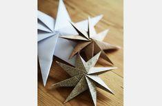 Így hajtogass csodaszép karácsonyi csillagot papírból   femina.hu