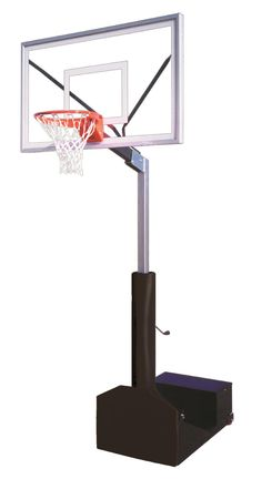 First Team Rampage Select Adjustable Portable Basketball Hoop 60 inch Acrylic from NJ Swingsets