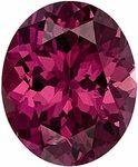 This Genuine Rhodolite Gemstone Displays A Beautiful Vivid Raspberry Color.  Very Clean, Well Cut