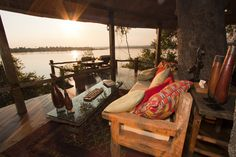Luxury Safari Lodge, Tongabezi, Victoria Falls, Zambia