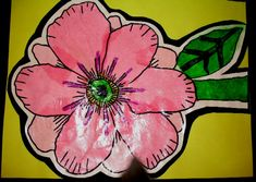 Georgia O'Keefe Flowers-I like how they are mounted.