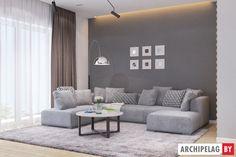 Проекты домов Archipelag: Фло II Loft, Couch, Furniture, Home Decor, Houses, Settee, Decoration Home, Sofa, Room Decor