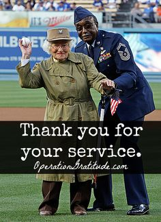 We are huge Bea Cohen fans! Thank you, Los Angeles Dodgers, for allowing Bea to throw the ceremonial first pitch -- what a great way to honor her service in World War II! (AP Photo/Reed Saxon) #LosAngelesDodgers #LosAngelesAngelsofAnaheim #MajorLeagueBaseball #WorldWarII