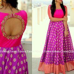 Very nice Price kya he - gojiberry club Lehenga Designs, Salwar Designs, Half Saree Designs, Kalamkari Dresses, Ikkat Dresses, Long Dress Design, Dress Neck Designs, Saree Gown, Anarkali Dress