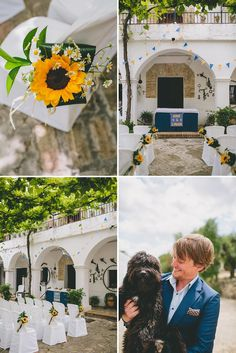 An Intimate Rustic Wedding In Seville Spain With Bride In Temperley Gown And Groom In Navy Reiss Suit With Tan Brogues Images From Zoe Campbell Photography 0003