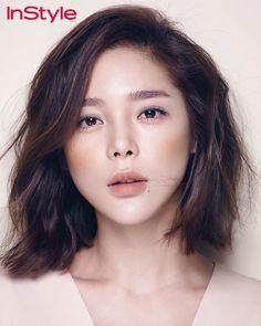 Park Si Yeon - InStyle Magazine February Issue '15
