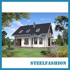 We are professional manufacturer of metal frame house kits,steel prefabricated homes in China. Prefab Modular Homes, Prefabricated Houses, Metal Building Homes, Building A House, Small Manufactured Homes, Osb Wood, Steel Frame House, Waterproof Flooring, Gypsum