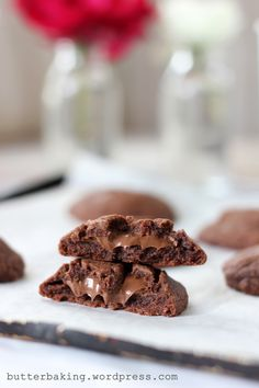nutella stuffed cookies by butter