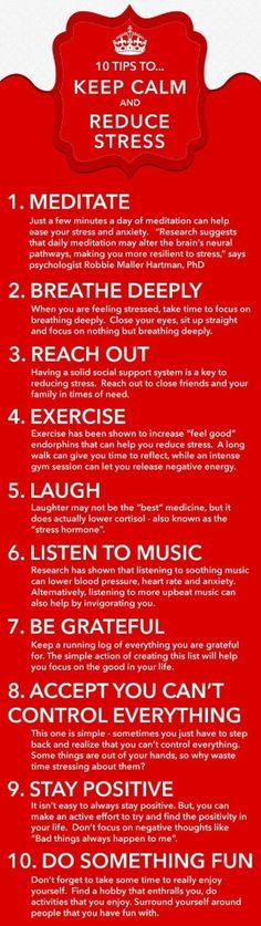 Keep Calm & Reduce Stress