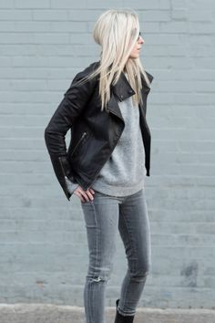 denim, grey, black