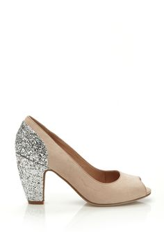 6a2ad84d7ac CHELSEA CREW Nude Gilda Cinderella Shoes