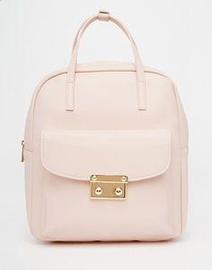 ASOS Front Lock Detail Backpack