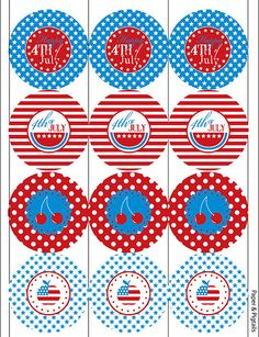 Cute printables from Bella Grace party designs