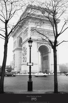 Place Charles de Gaulle Art Print at AllPosters.com