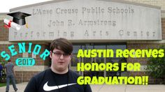 Austin Receives Honors For Graduation!!