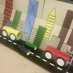 Early Childhood cityscape creation
