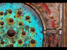 Rust and patina corrosion