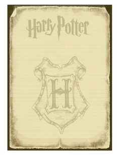 Harry Potter Printable Invitation 2 - Google Drive