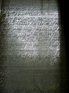 Christel Llop 2013 (calligraphy)