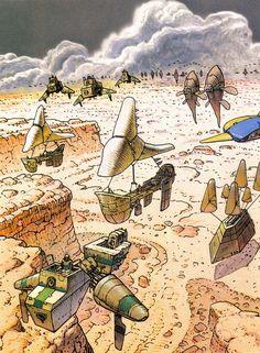 ..._Moebius - Panzer Dragoon, concept art (1995)