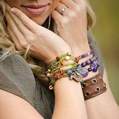 Long Charm Bracelet Crochet Pattern