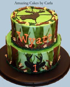 hunting birthday Cake Ideas for Men | Camo-DeerHunting Cake - Cake Decorating Community - Cakes We Bake
