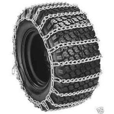 #5: Tire Chains 20X8X8 20X8X10 Snow Throwers / Mowers 2 Link