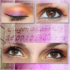 Eye Make Up - Datum: 26.09.10  http://talasia.blogspot.de/2010/09/amu-120er-in-love.html