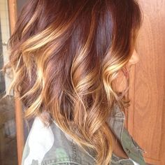 #ombre #bob Short hair with ombré