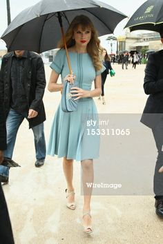 Taylor Swift attends the Elie Saab Spring Summer 2013…