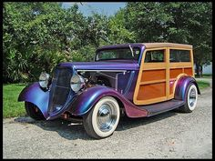 T167 1933 Ford Woody Street Rod 350/200 HP, Automatic Photo 1