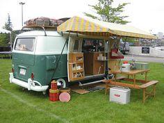 WV Transporter: Summer, Sun and VW Camper Van