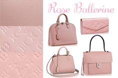 Louis Vuitton Rose Ballerine