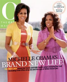 "Just for reference - aligning with Oprah in terms of ""brand"" and all that it embodies. Approachability, a sense of pride in being feminine and a woman, spiritual, kind and encouraging."