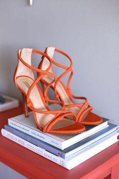 Schutz Strappy Heels