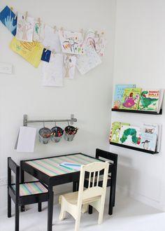 Kids craft corner