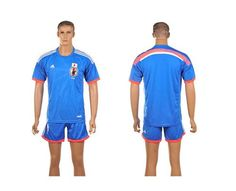 Japan Blank Home World Cup Soccer Country Jersey Dartmouth Sports Jerseys