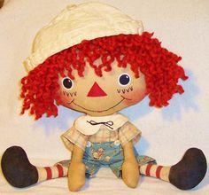 free images to make primitive dolls | ... doll patterns on sale. Patterns to make primitive raggedy dolls