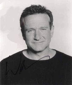 """Robin Williams - R.I.P. 1951 - 2014 :( """"You're only given one little spark of madness. You mustn't lose it""""."""