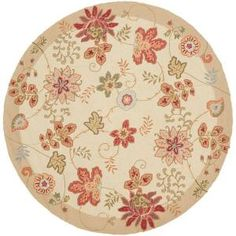 Artistic Weavers Sargent Cream 6 ft. Round Area Rug-Sargent-6RD at The Home Depot