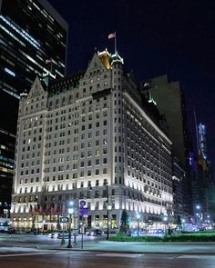 The Plaza Hotel by nycinstantly - The Best Photos and Videos of New York City including the Statue of Liberty, Brooklyn Bridge, Central Park, Empire State Building, Chrysler Building and other popular New York places and attractions.