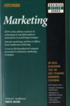 Professor Richard Sandhusen's brand-new and important fourth edition of Marketing explains how four digital-age systems have merged into one to change marketing and management practice as much in the past five years as in the previous half century. These systems--decision support, relationship marketing, integrated marketing communication, and balanced scorecard--receive detailed analysis ... Integrated Marketing Communications, Relationship Marketing, Professor, Management, Change, Digital, Business, Books, Teacher