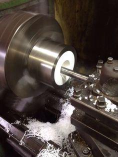 Fabricación de pieza de inoxidable para buje de teflon