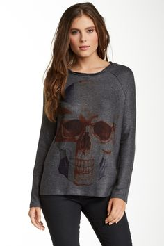 Raw Hem Pullover Sweater by Go Couture on @HauteLook