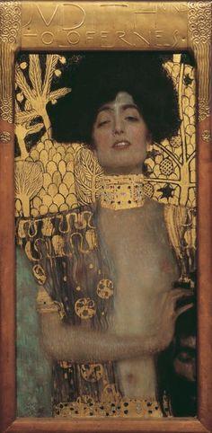 Gustav Klimt Judith and the Head of Holofernes (detail) 1901 Art Print by rachelmtl Klimt Judith, Art Prints, Fine Art, Paintings Famous, Artist, Classic Art Prints, Klimt Paintings, Judith And Holofernes, Klimt Art