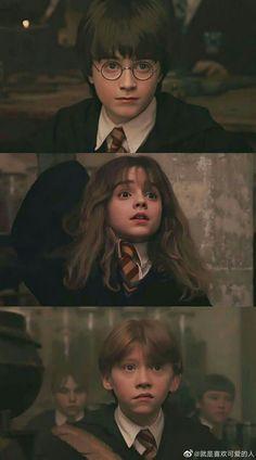 Harry Hermione Ron, Harry Potter Draco Malfoy, Harry James Potter, Harry Potter Characters, Harry Potter Universal, Ron Weasley, Harry Potter Poster, Harry Potter Tumblr, Harry Potter Pictures