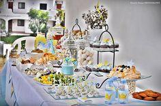 A mesa da festa