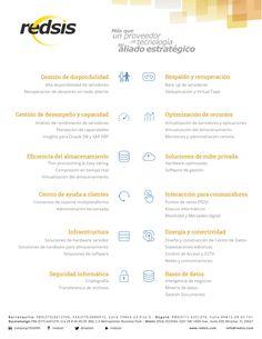 Portafolio de Soluciones -  #proveedor de #tecnología #RedsisIT