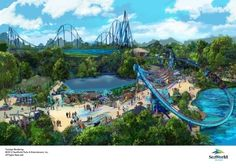 Surfacing summer 2016 at SeaWorld Orlando will be Mako(tm), a 200-foot-tall hypercoaster inspired by one of the fastest sharks on the planet. Mako will be Orlando's tallest, fastest and longest roller coaster.