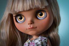Free Shipping OOAK Custom Factory Blythe Doll  by MissFreyaJ